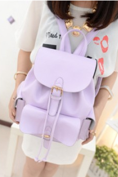 fashion Casual College Style Backpack