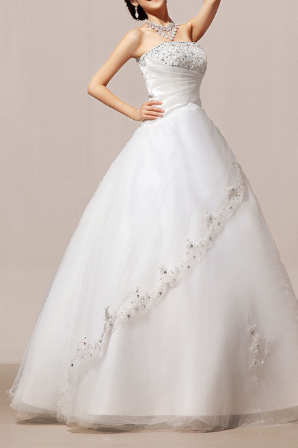 The new 2015 trailing strapless dress with wedding dresses