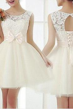 Fashion Embroidery Lace Dress