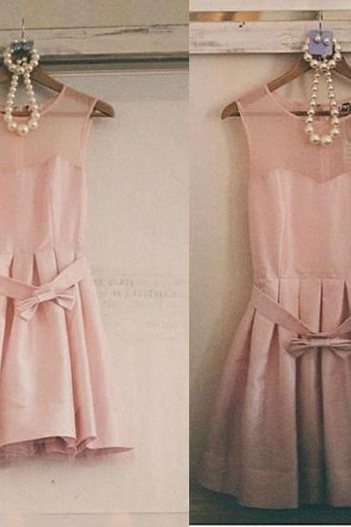 Bd210 Fashion Bridesmaid Dress,Satin Bridesmaid Dress,A-Line Party Dress