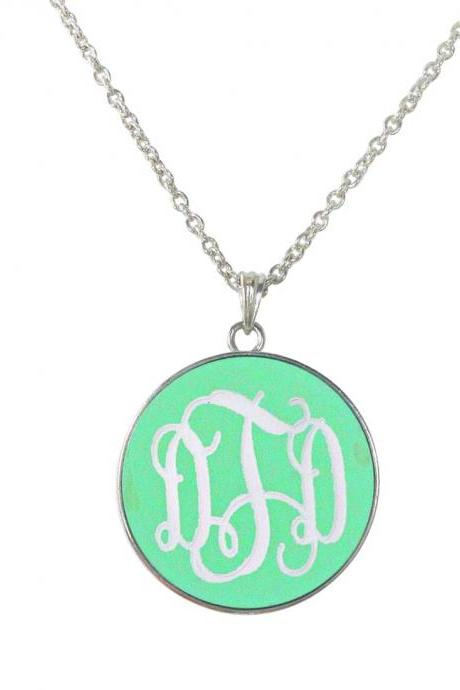 Monogram Josie Necklace
