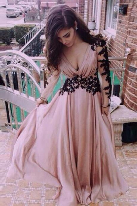 Sexy Long Lace/Chiffon Evening Formal Party Cocktail Bridesmaid Prom Gown Dress