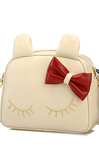 Cute Cat Bow Mini Shoulder Bag