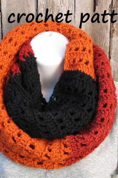 Crochet Scarf, Neck warmer, Pdf pattern, Easy, Great for Beginners, Scarf Crochet, Pattern No. 25