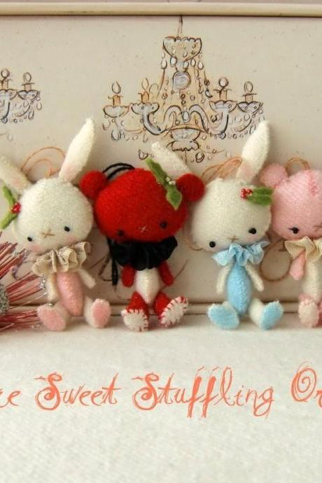 Mini Sweet Stufflings pdf Pattern