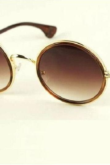 Round lenses retro fashion summer unisex sunglasses
