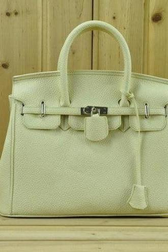 Casual Shoulder beige Totes Woman Handbag