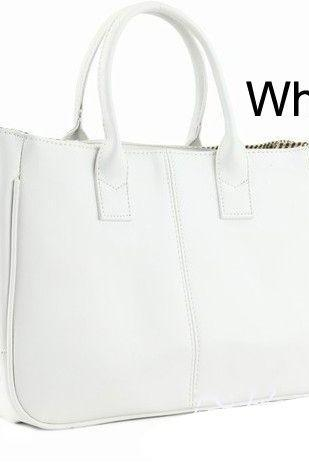 Fashion Shoulder white Totes Woman Handbag