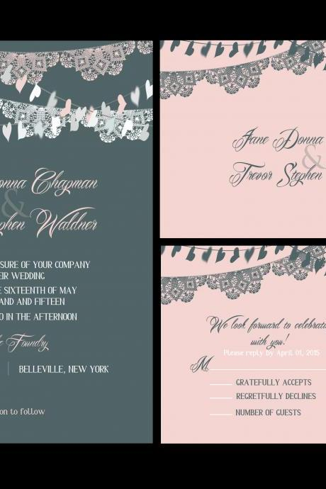 70 sets wedding invitations, custom wedding invitations, budget invites, personalized wedding invitations