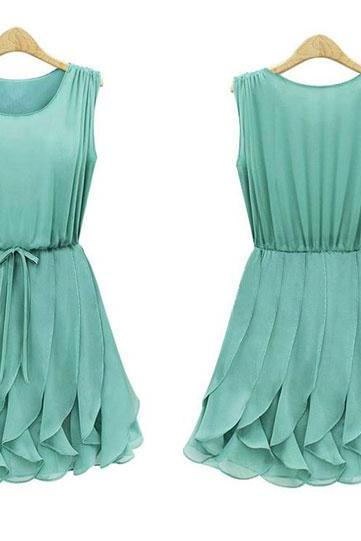 Gorgeous Pleated Chiffon Dress