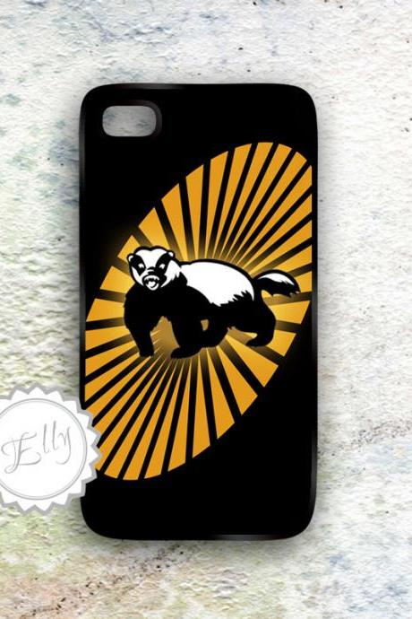 iPhone case Honey Badger Hard Plastic Cover - Cell Phone Accessories Gift