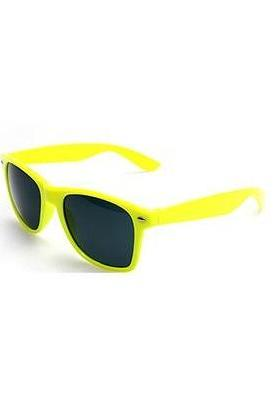 Yellow Cool Party Wayfarer Fashion Unisex Sunglasses