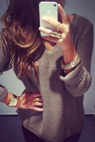 Sweater Fashion Retro Sweater