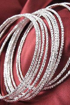 Classic 10pcs Lots Wholesale 925 Sterling Silver Fashion Bracelet Cuff Bangle