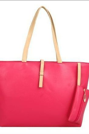 New Casual Rose Everyday Fashion Woman Handbag