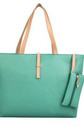 New Casual Green Everyday Fashion Woman Handbag