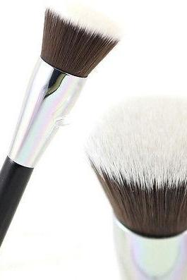 Professional Soft Makeup Brush Cosmetic Flat Brushes Kabuki Face Cheeks Powder