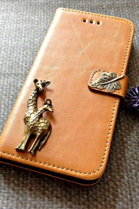 Deer iPhone 6 wallet case, iPhone 6 plus wallet case, iPhone 5 5s wallet case, Samsung galaxy S5 S4 S3 wallet case, Samsung galaxy note 4 note 3 case