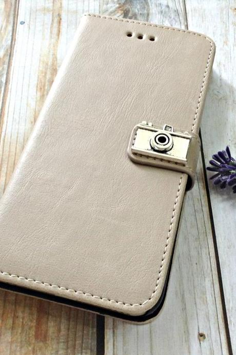 Camera iPhone 6 wallet case, iPhone 6 plus wallet case, iPhone 5 5s 5c wallet case, Samsung galaxy S5 S4 S3 wallet case, Samsung galaxy note 4 note 3 case