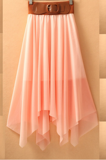 Charming Chiffon Skirt/Skirt /Woman Skirt/Dresses/Dress