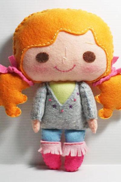 Bella girl - PDF Doll Pattern