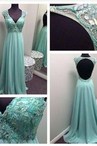Pd390 High Quality Prom Dress,Preety Prom Dress,Chiffon Prom Dress,A-Line Prom Dress,Crystal Prom Dress