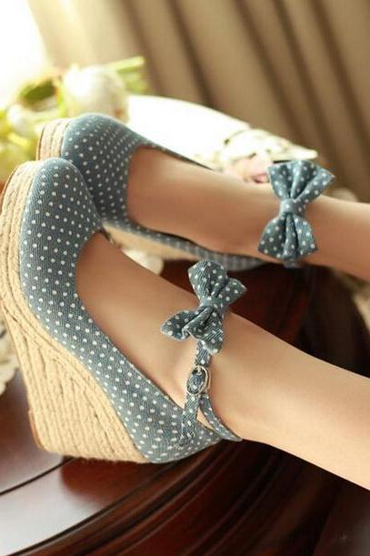 Spring And Summer Wave Point Fashion High Heels Ss05242Sh 7HYO7D8DK0Z57DBU5JVNX