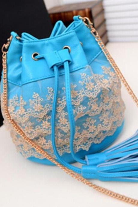 Fringed Shoulder Bag Messenger Bag Dg61419 GZ6T13OBTY25KY4E801ML