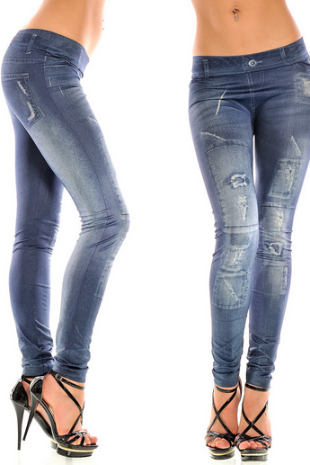 Skinny Denim Leggings