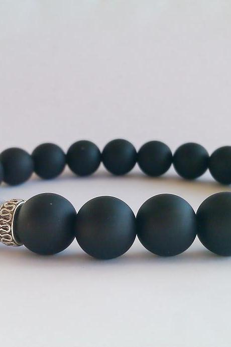 Men's Bracelet,Gift for Him,Boyfriend Gift,Jewelry for Men,Gift for Men,Mens Jewelry,Bracelets for Men,Mens Accessories,Anniversary Gift Men,Men Black Bracelet,Men's Custom Bracelet, Men's Custom Jewelry
