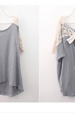 Bow Lace Blouse