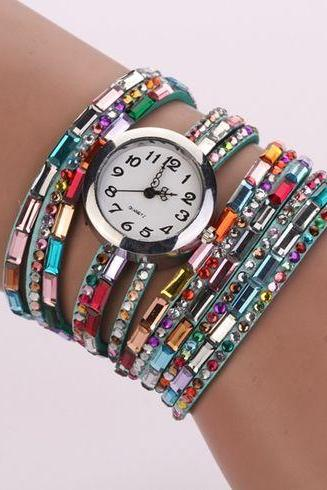 HIppie casual concert party girl watch