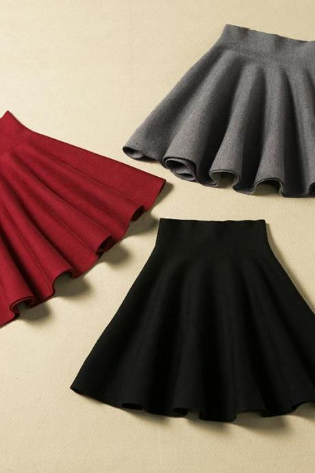 Sexy Lovely Mini Skirt For Autumn Or Winter Nice Skirt