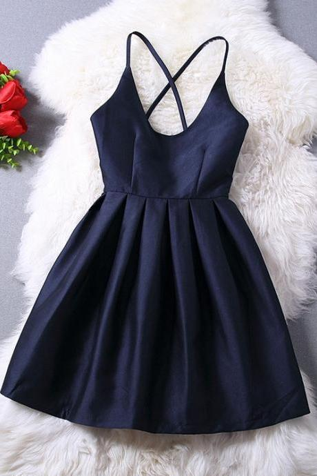 Women's V-Neck Halter Dress