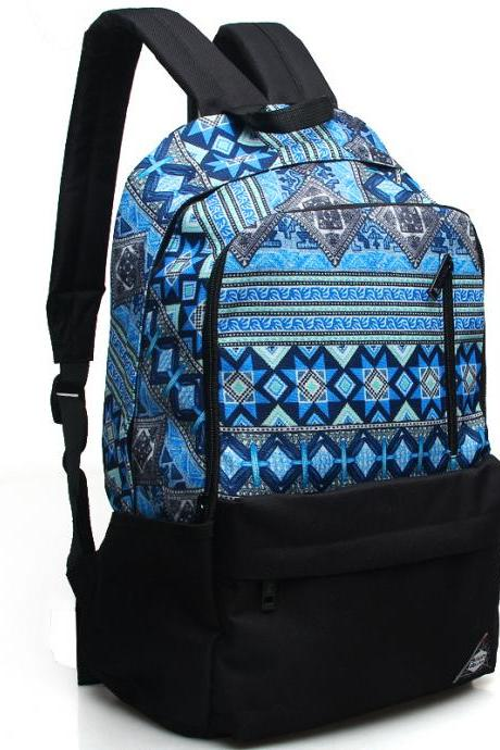 Retro Casual Canvas Design Backpack