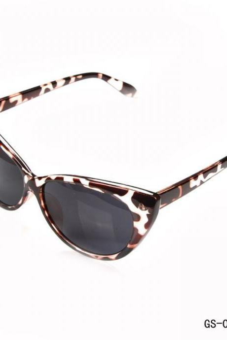 Cat eye summer fashion woman leopard sunglasses
