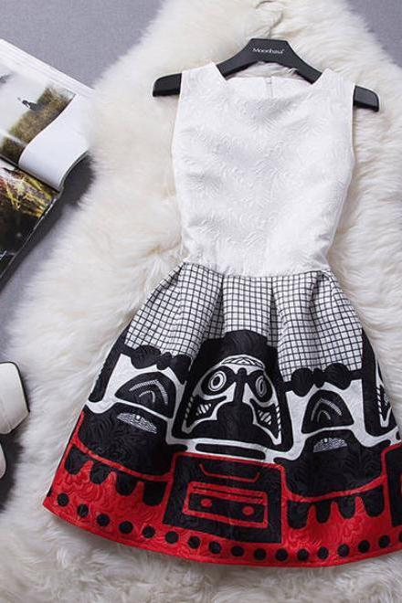 Cute totem vest hot dress