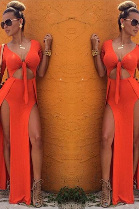 Lady Womens Sexy Slim Fit Cocktail Bodycon Bandage Dress Clubwear Evening Dress