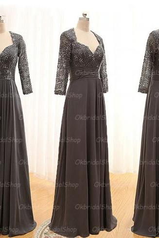 Long sleeve prom dresses, grey prom dress, sexy prom dresses, blue prom dresses, 2015 prom dresses, sexy prom dresses, dresses for prom, CM206