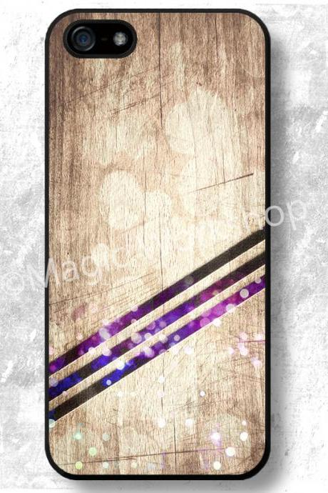 iPhone 4 4S 5 5S 5C 6 6 Plus case, iPhone 4 4S 5 5S 5C 6 6 Plus cover, Stripes on wood texture