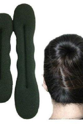 2 PCS Hair Styling Bun Maker Easy and Fashion Hair accessory useful