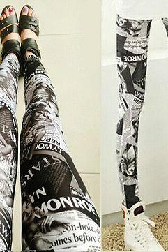 Women Lady's New Stylish Punk Sexy Stretchy Leggings Tight Pencil Skinny Pants