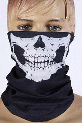 Call of Duty COD Ghosts Balaclava Skull Hood Black Face Mask Sports CS Hood
