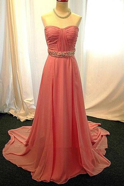 Pd514 High Quality Prom Dress,Chiffon Prom Dress,A-Line Prom Dress,Strapless Prom Dress,Brief Prom Dress