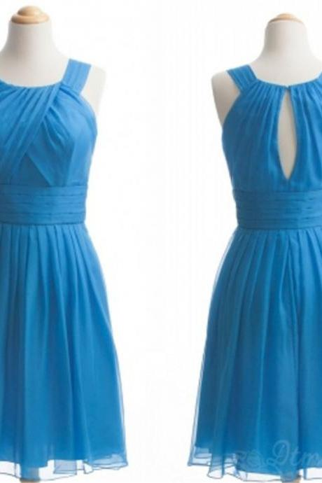 Chiffon Bridesmaid Dress Short Prom Dress Party Dresses Spd169