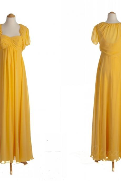 Chiffon Bridesmaid Dress Evening Dresses Long Prom Dress Spd068