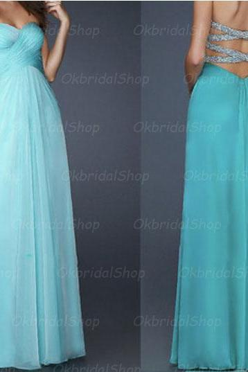 backless blue prom dresses, rhinestone prom dress, sexy prom dresses, chiffon prom dresses, 2015 prom dresses, sexy prom dresses, dresses for prom, CM231