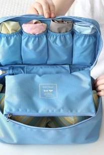 Portable travel underwear bag toiletry kits