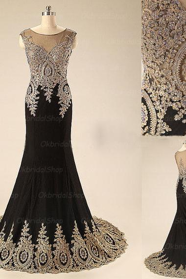 black prom dresses, mermaid prom dress, chiffon prom dresses, long prom dresses, 2015 prom dresses, sexy prom dresses, dresses for prom, CM320
