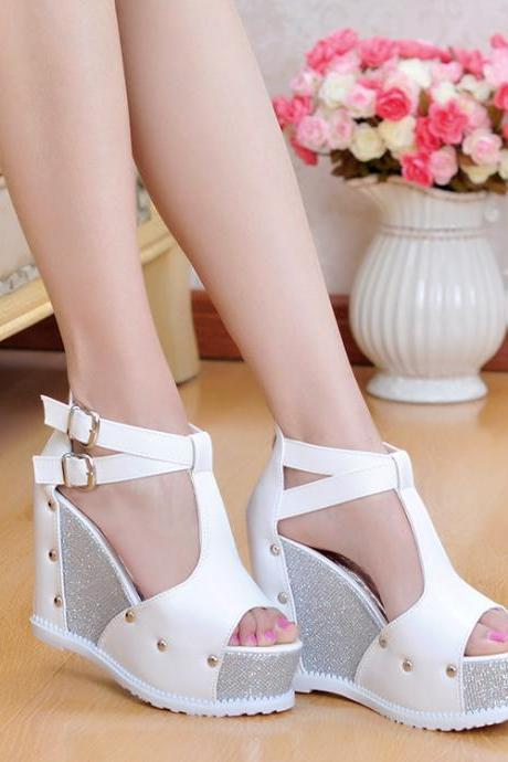Rivet waterproof heels 5784LZ